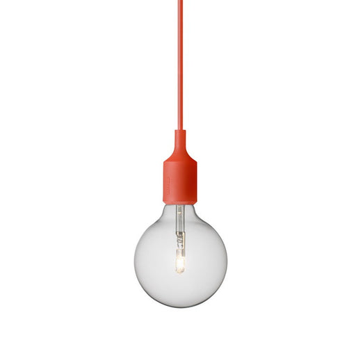 Muuto E27 socket pendel i orange