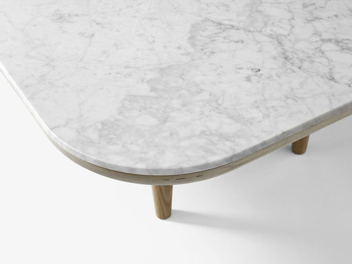&tradition Fly SC4 bord - Bianco Carrara marble