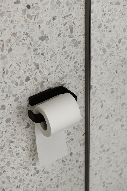 Menu toiletrulleholder - sort