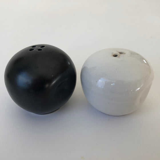 Handmade Ceramic Salt and Pepper Shakers
