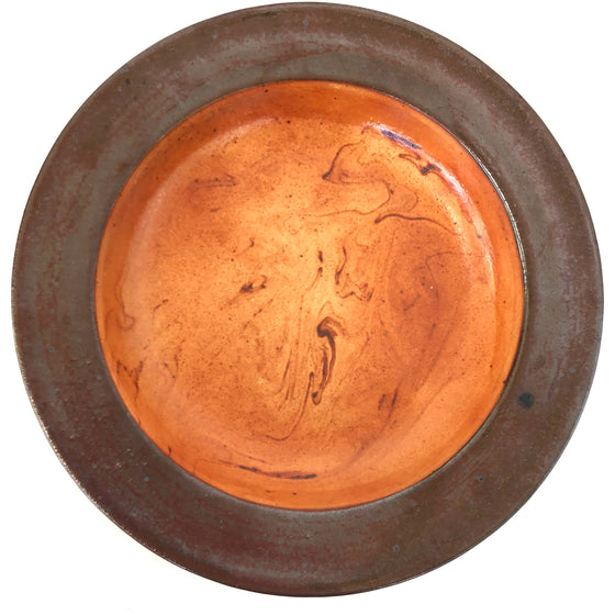 Stoneware Bowl With Rim