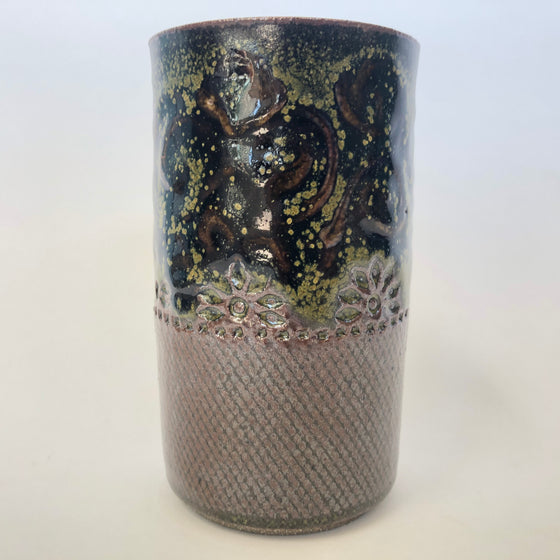 Hand-Made Pottery Tumbler