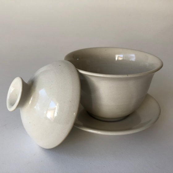 Handmade Ceramic Gaiwan Tea Pot