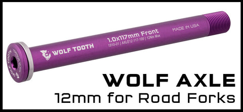 Wolf Tooth 12mm Wolf Axle for Road Forks