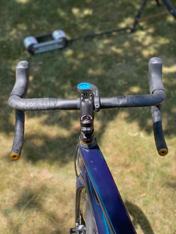 Wolf Tooth Alloy Bar End Plugs in drop bars