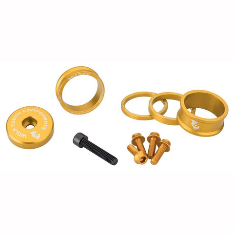 Wolf Tooth Gold Color Anodized Color Accent Kit