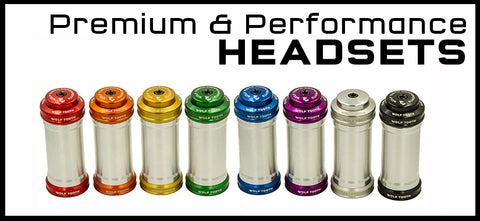 Wolf Tooth Premium and Performance Headsets