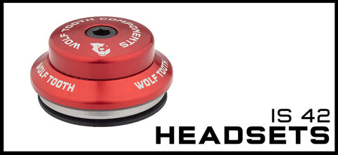 Wolf Tooth IS 42 Headsets
