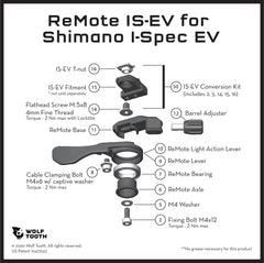 ReMote for IS-EV brakes diagram