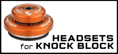 Wolf Tooth Headsets for Knock Block