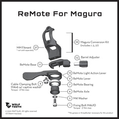 ReMote for Magura Brakes Diagram