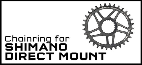 Wolf Tooth Chainring for Shimano Direct Mount