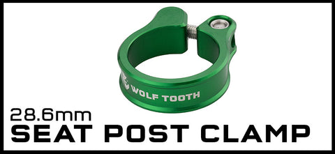 Wolf Tooth 28.6mm Seat Post Clamp
