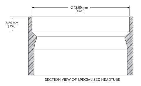 Measuring your Specialized Headtube