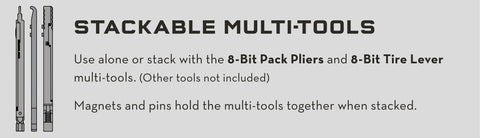8-Bit System stackable multi-tool