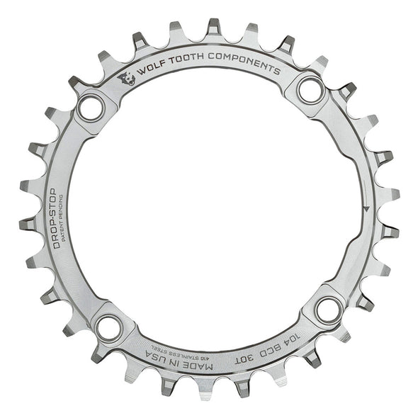 Wolf Tooth 104BCD 30t Stainless Steel chainring