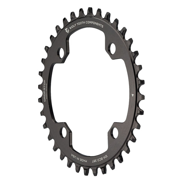 Wolf Tooth 104BCD 36t Black Chainring