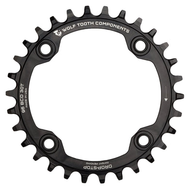 96 mm Symmetrical BCD Chainrings for Shimano Compact Triple