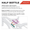 Wolf Tooth Half Bottle mount use and installation instructions