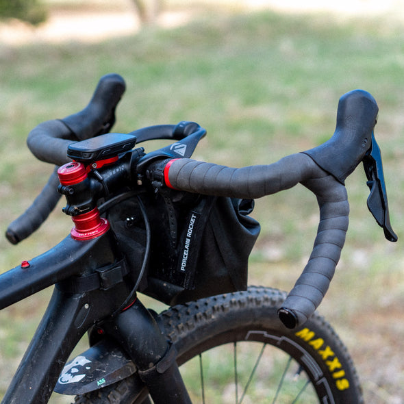 Wolf Tooth Supple Bar Tape for dropbars black installed