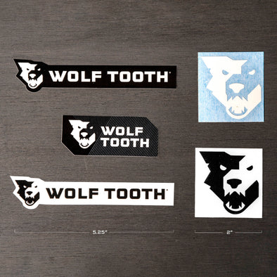 Miscellaneous Wolf Tooth Stickers and Decals
