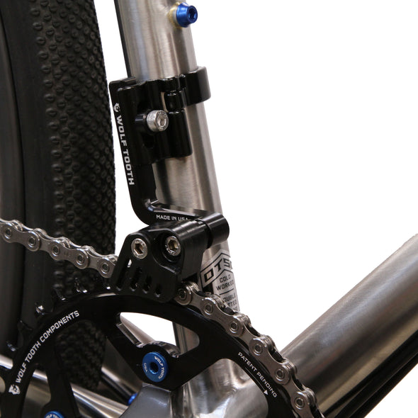 GnarWolf Chainguide with Seat Tube Clamp Mount