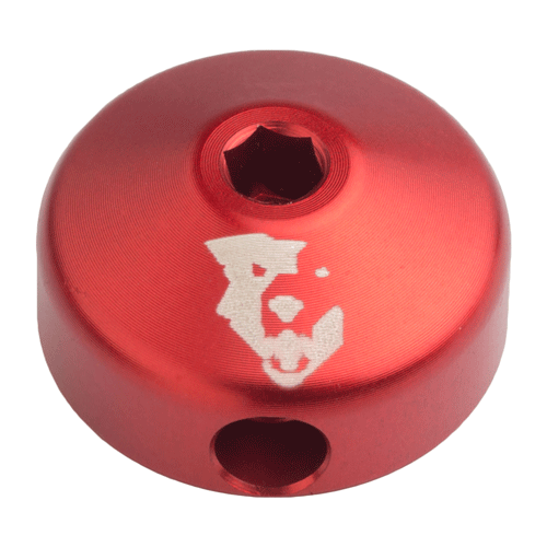 Low-Profile Shock Rebound Knob