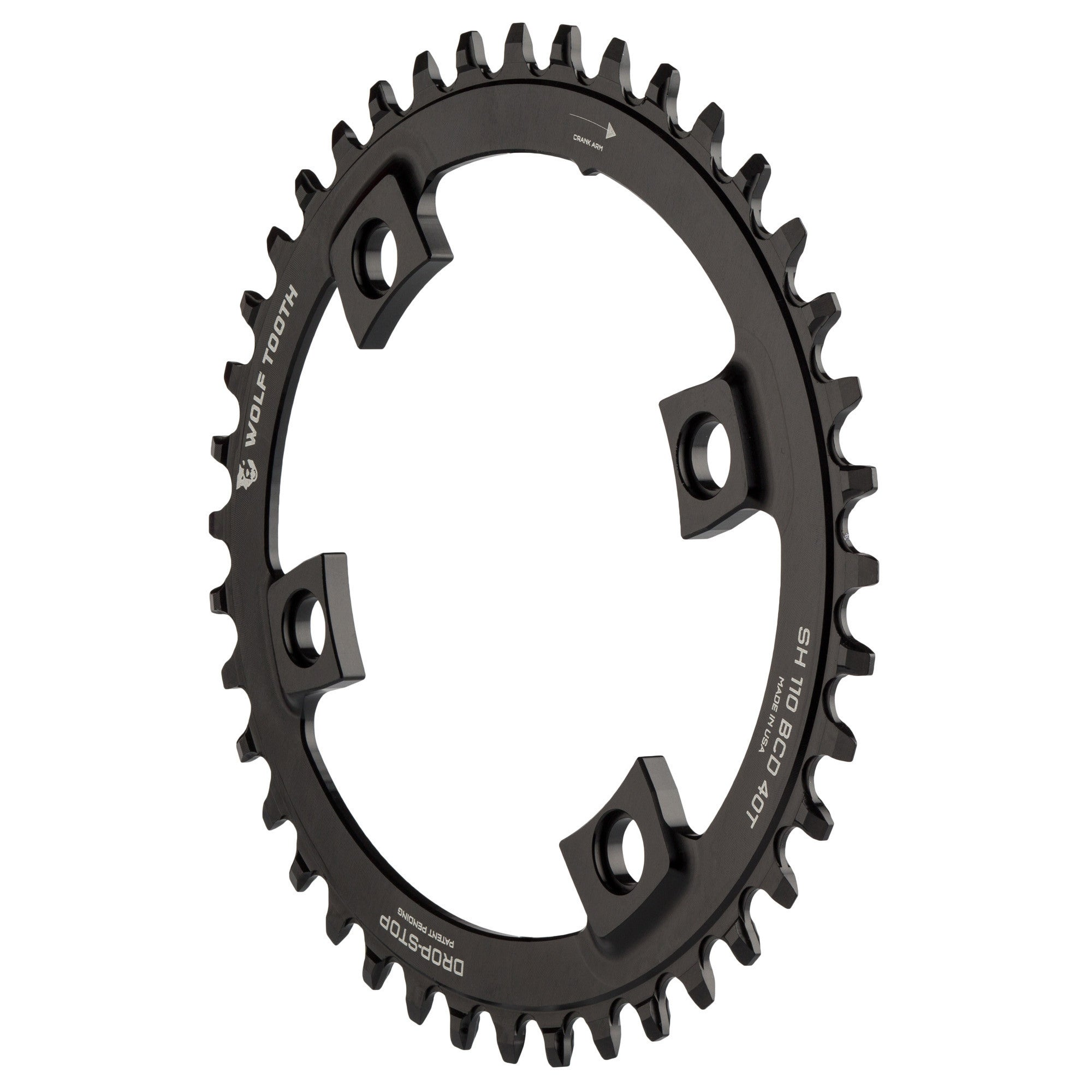 Oval BCD110 Bicycle Chainring Chainwheel 4 Bolt For Shimano M5800 6800 4700 9000