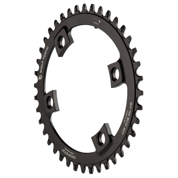 Elliptical 110 BCD Asymmetric 4-Bolt for Shimano Cranks