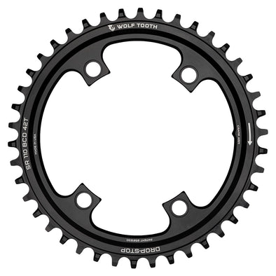 Wolf Tooth Chainring SR 110 BCD 42T black