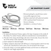 Wolf Tooth Quick Release seatpost clamp installation instructions and available sizes