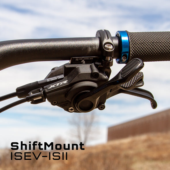ISEV-ISII is for a Shimano I-Spec EV shifter mounting to a Shimano I-Spec II brake