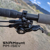 MM-ISEV is for a SRAM Matchmaker shifter mounting to a Shimano I-Spec EV brake
