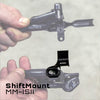 Wolf Tooth ShiftMount MM-ISII is for a SRAM MatchMaker shifter mounting to a Shimano I-Spec II brake