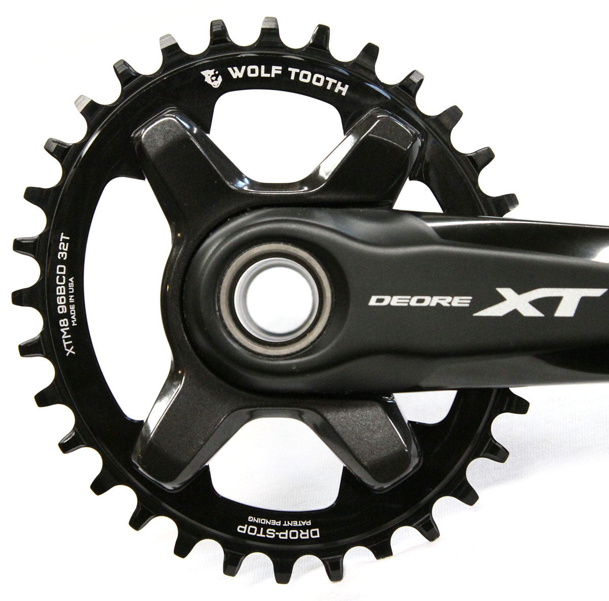Oval Chainring BCD96 for Shimano XT M8000 M7000 Narrow wide 1xSystem 32T to 38T