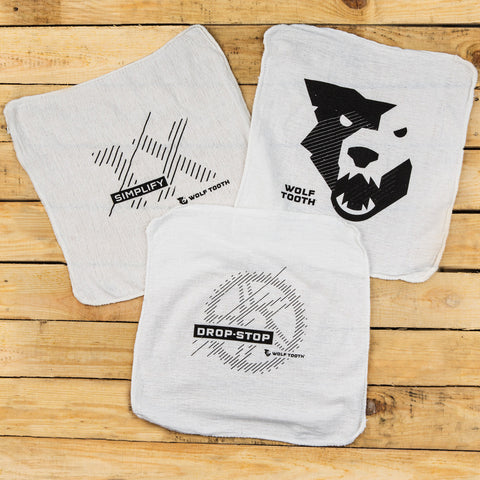 Wolf Tooth Shop Towels