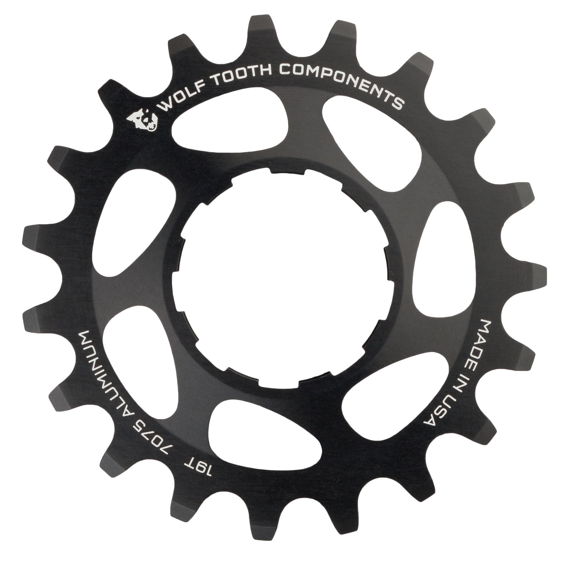20T Purple Wolf Tooth Components Single Speed Aluminum Cog