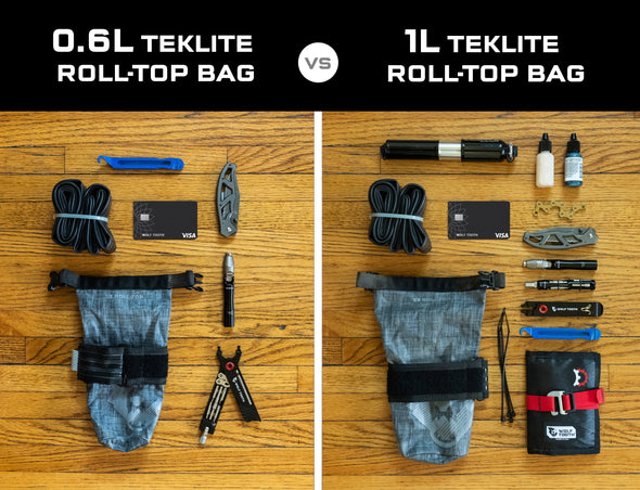 B-RAD TekLite Roll-Top Bag 0.6L