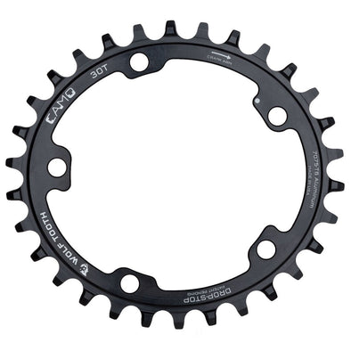 Wolf Tooth CAMO chainring with drop-stop technology