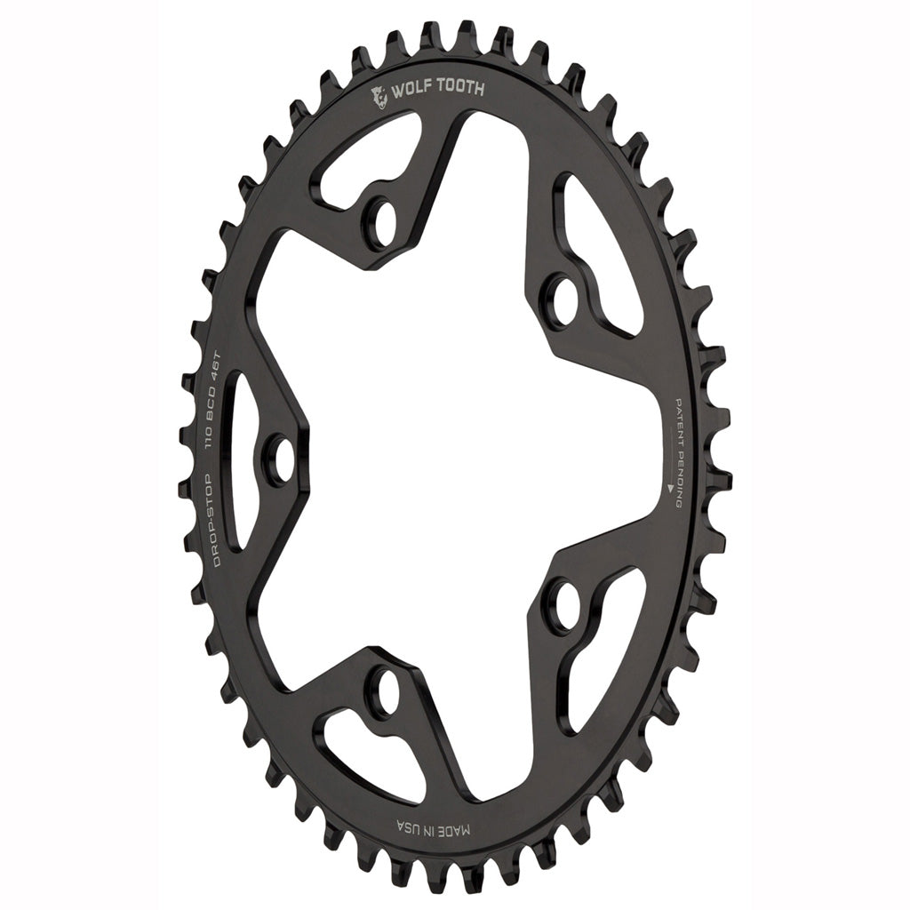 Wolf Tooth Components Drop-Stop Chainring 48T x 110