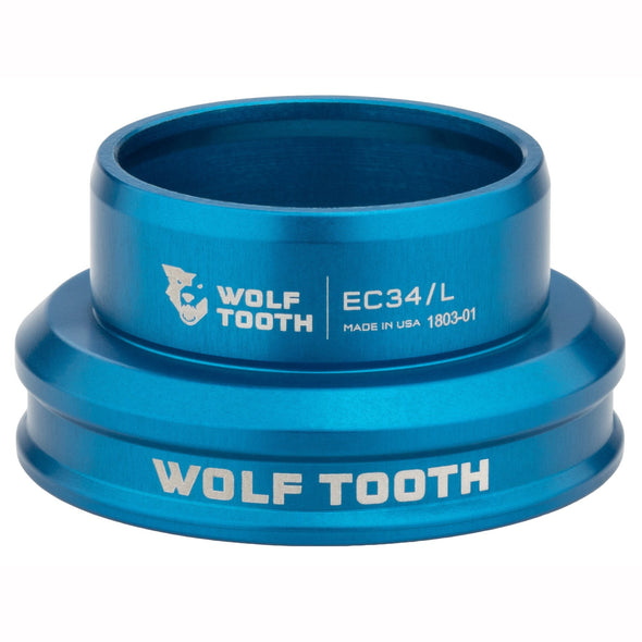 Wolf-Tooth-Headset-External-Cup-EC34 Lower blue