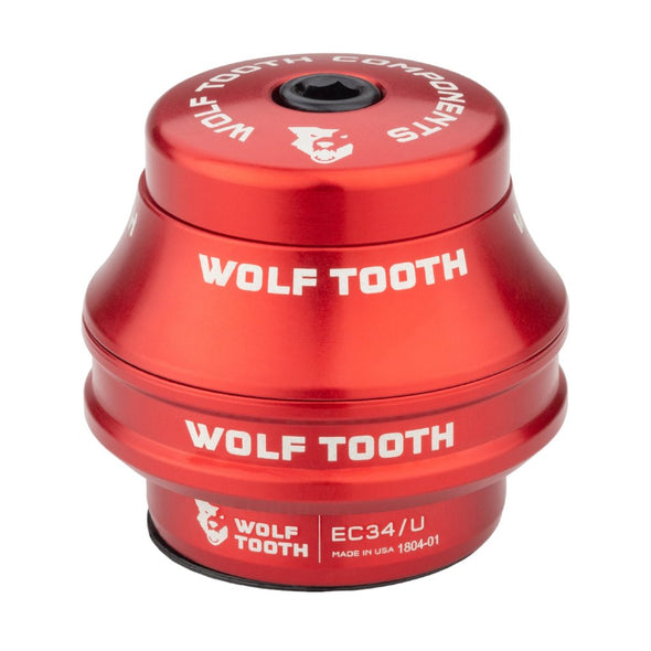 Wolf-Tooth-Headset-External-Cup-EC34 upper 15mm red