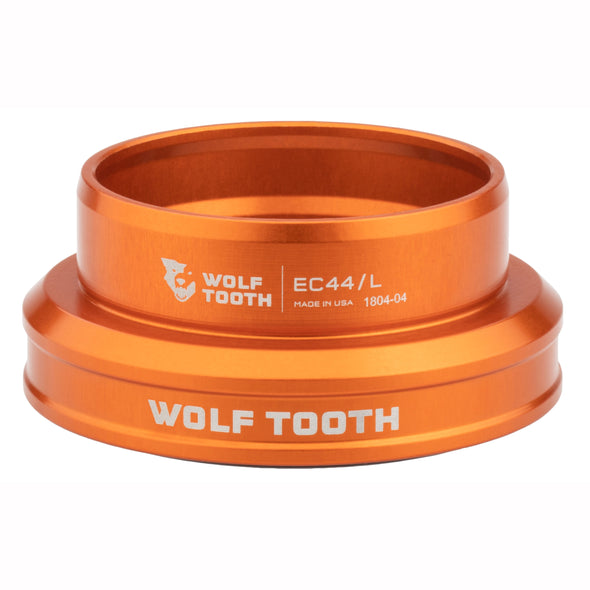 Wolf-Tooth-Headset-External-Cup-EC34 Lower orange