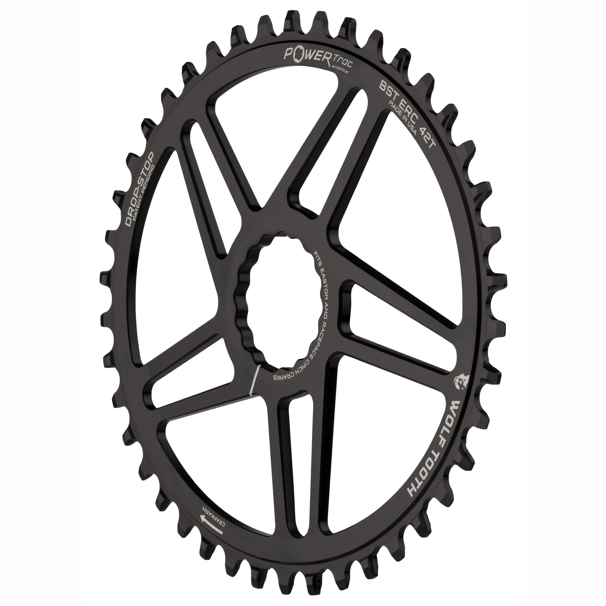 30t RaceFace//Easton CINCH Direct Wolf Tooth Elliptical Direct Mount Chainring