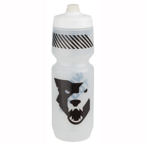 Wolf Tooth water bottle clear
