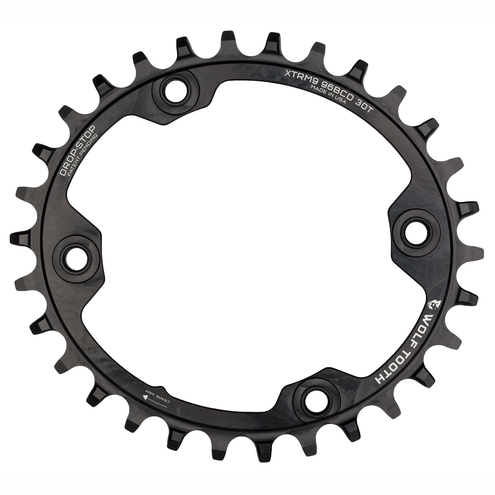 77a9b46f80d Elliptical 96 mm BCD Chainrings for Shimano XTR M9000 and M9020 ...