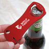 Bottle Opener With Rotor Truing Slot