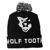 Wolf Tooth winter knit hat with pom