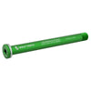 Wolf Tooth Front Road axle 1.5x125mm color green