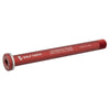 Wolf Tooth Front Road axle 1.5x125mm color red